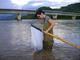 Javier Sánchez. Medición de calidad del agua Río Verde, Oaxaca.