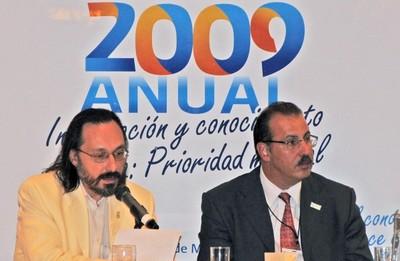 Daniel Murillo (Izq.), Alberto Palombo (Der.)